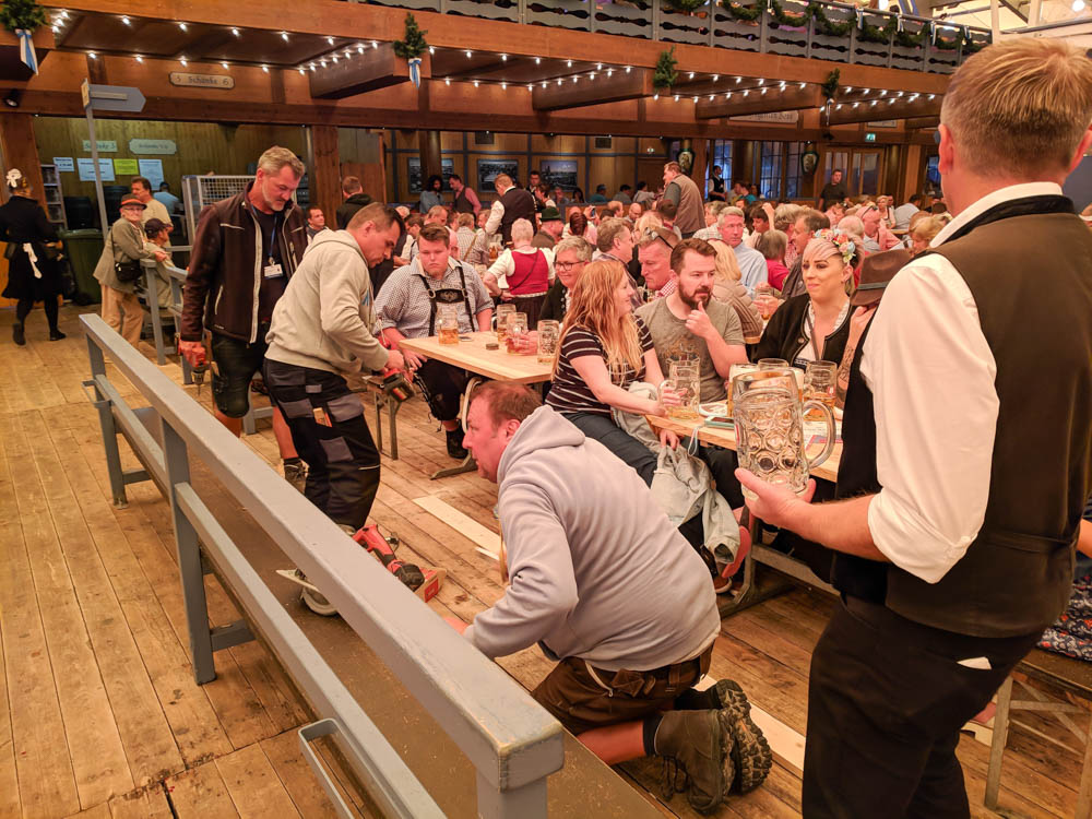 Employee working on the floor   Will Oktoberfest 2021 take place? Is Oktoberfest 2021 going to be canceled? All the info you need to know like what to do, how to plan ahead, official announcements out of Munich, Germany