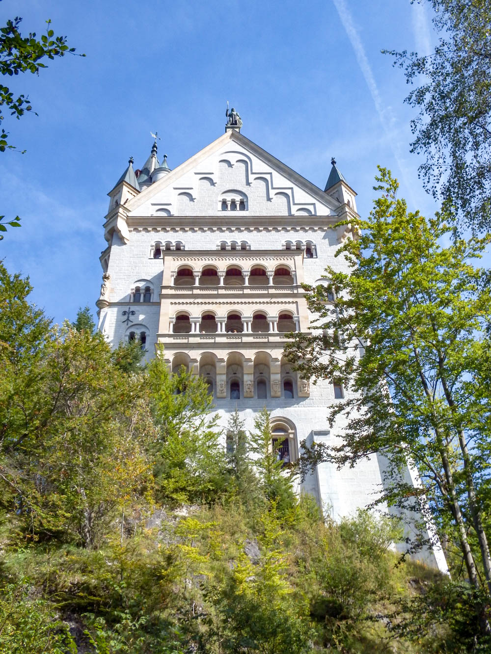 Back side | 10 Crucial Tips to Visit Neuschwanstein Castle Skillfully and Worry-Free | Tips for visiting Neuschwanstein Castle in Bavaria, Germany | Neuschwanstein Castle tour tickets