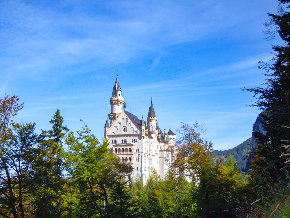 back view | 10 Crucial Tips to Visit Neuschwanstein Castle Skillfully and Worry-Free | Tips for visiting Neuschwanstein Castle in Bavaria, Germany | Neuschwanstein Castle tour tickets