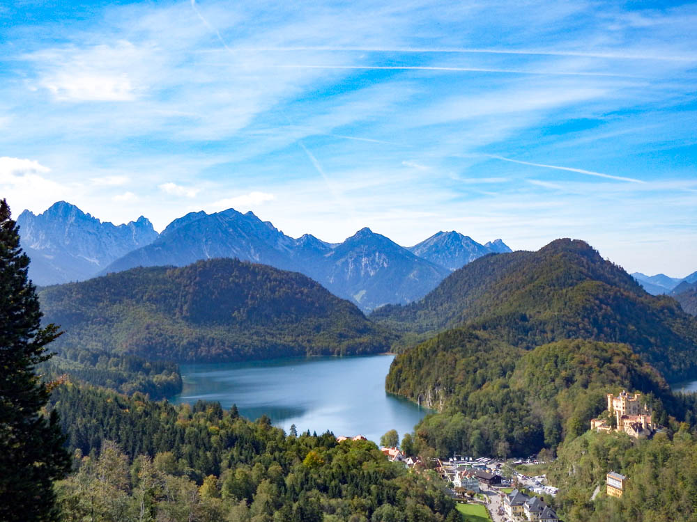 View from the back porch | 10 Crucial Tips to Visit Neuschwanstein Castle Skillfully and Worry-Free | Tips for visiting Neuschwanstein Castle in Bavaria, Germany | Neuschwanstein Castle tour tickets