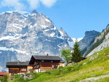 Where to stay in Gimmelwald, Switzerland: Mountain Hostels and B&Bs | Mountain Hostel, Esther's Guesthouse, Olle & Maria's Bed and Breakfast, Pension Gimmelwald | Best places to stay in Gimmelwald
