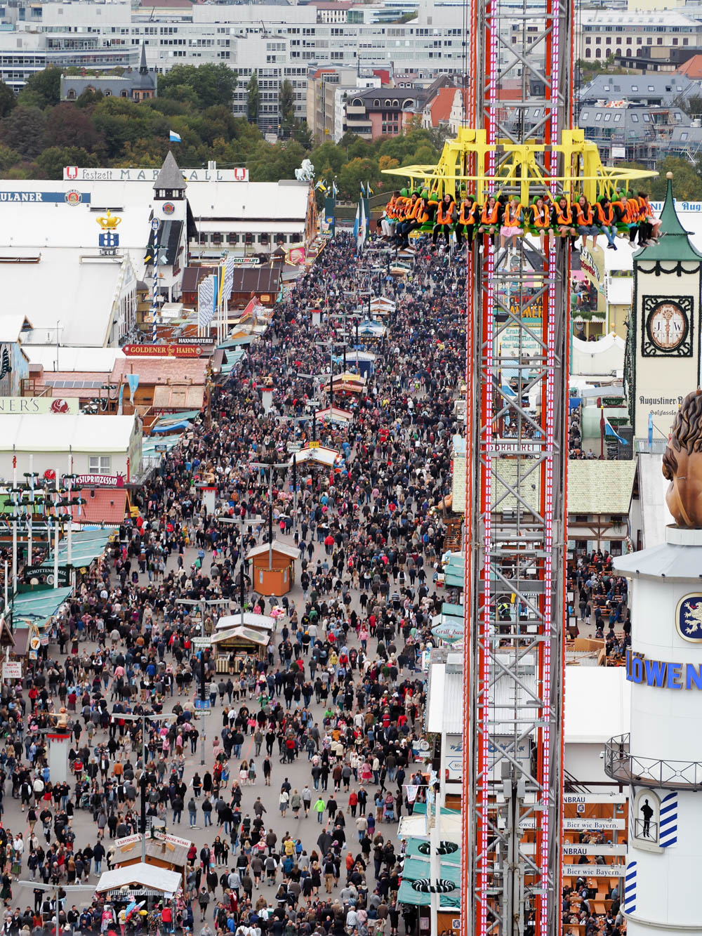 Oktoberfest crowds   Will Oktoberfest 2021 take place? Is Oktoberfest 2021 going to be canceled? All the info you need to know like what to do, how to plan ahead, official announcements out of Munich, Germany