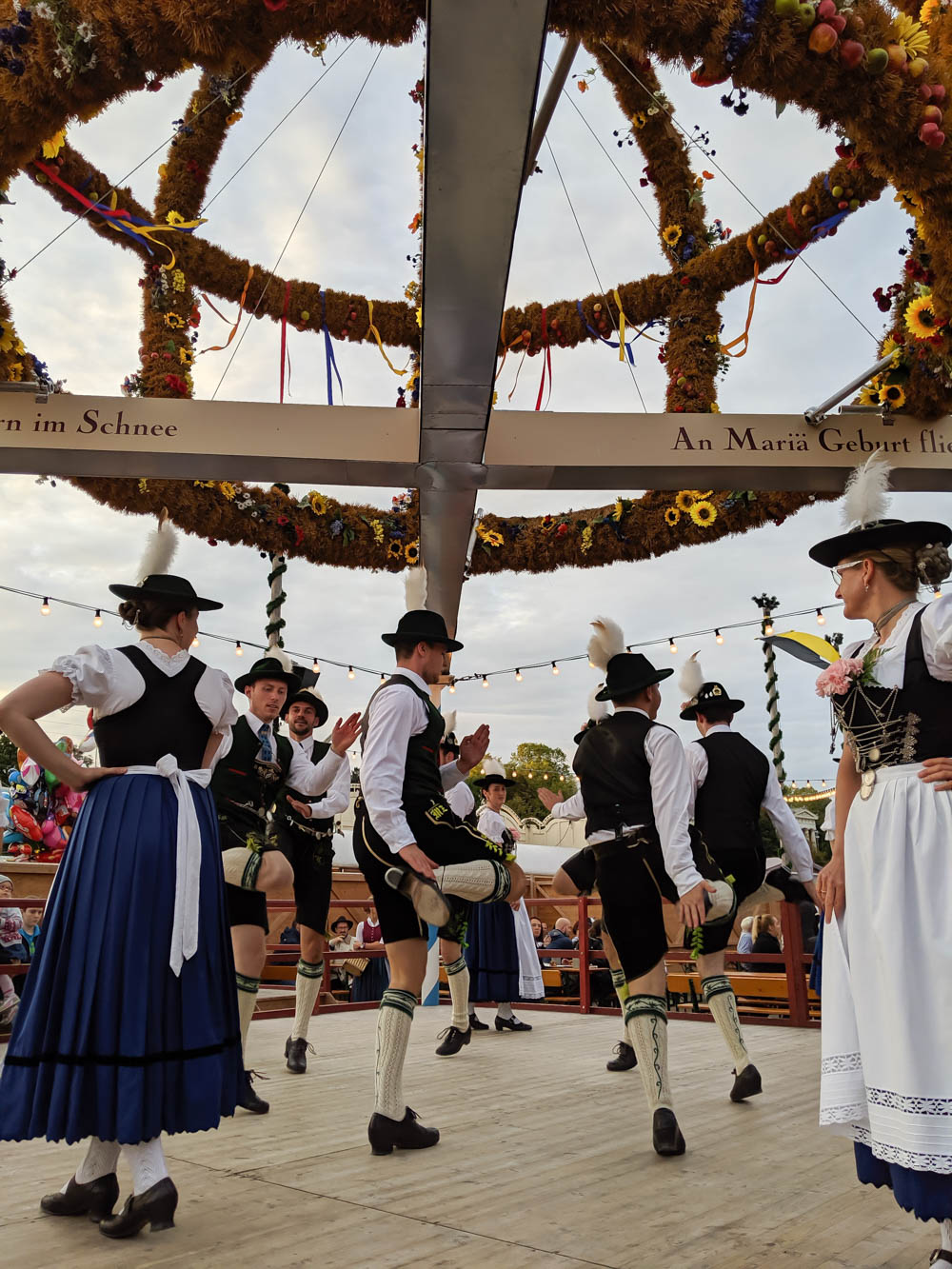 Dancing at the Festzelt Tradition | Will Oktoberfest 2021 take place? Is Oktoberfest 2021 going to be canceled? All the info you need to know like what to do, how to plan ahead, official announcements out of Munich, Germany