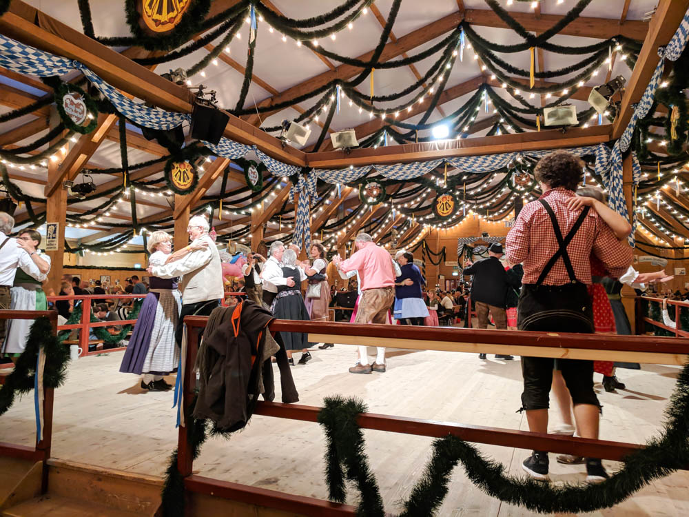 Dancing in the Festzelt Tradition   Will Oktoberfest 2021 take place? Is Oktoberfest 2021 going to be canceled? All the info you need to know like what to do, how to plan ahead, official announcements out of Munich, Germany