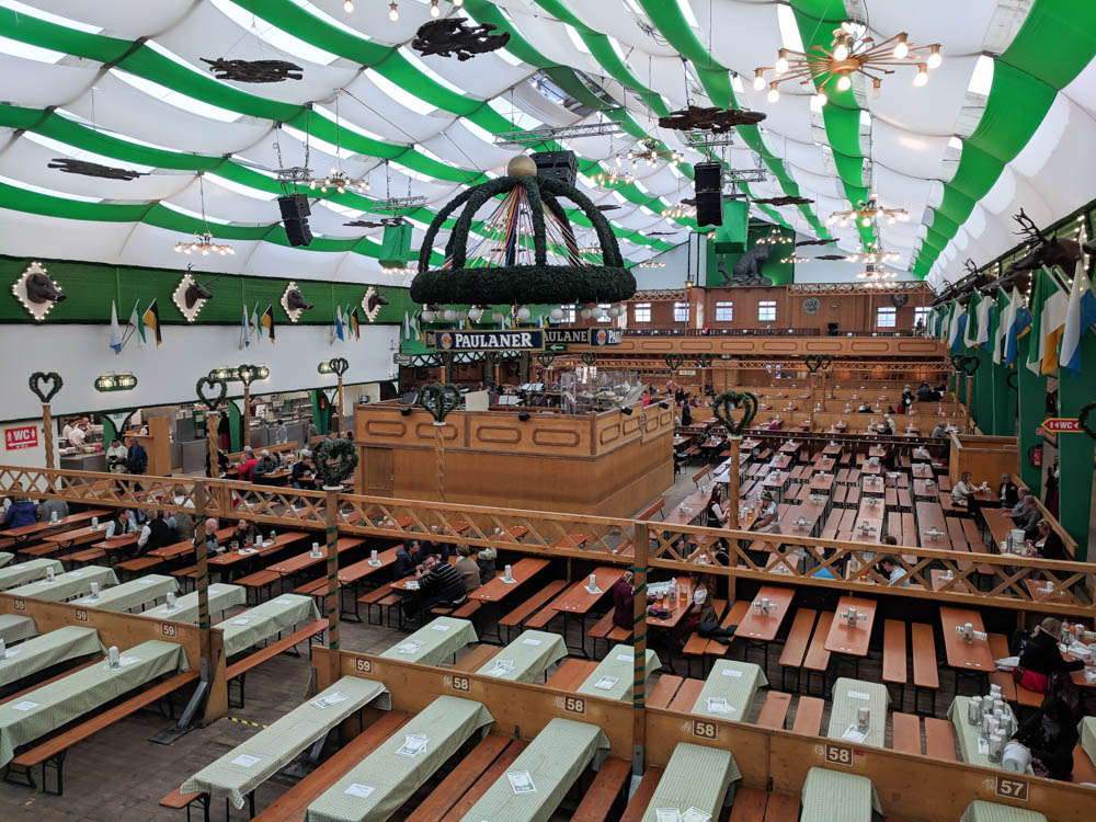Armbrustschutzenzelt tent   Will Oktoberfest 2021 take place? Is Oktoberfest 2021 going to be canceled? All the info you need to know like what to do, how to plan ahead, official announcements out of Munich, Germany