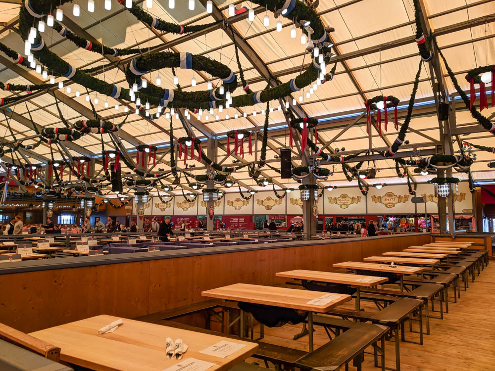 Empty Schottenhamel tent   Will Oktoberfest 2021 take place? Is Oktoberfest 2021 going to be canceled? All the info you need to know like what to do, how to plan ahead, official announcements out of Munich, Germany