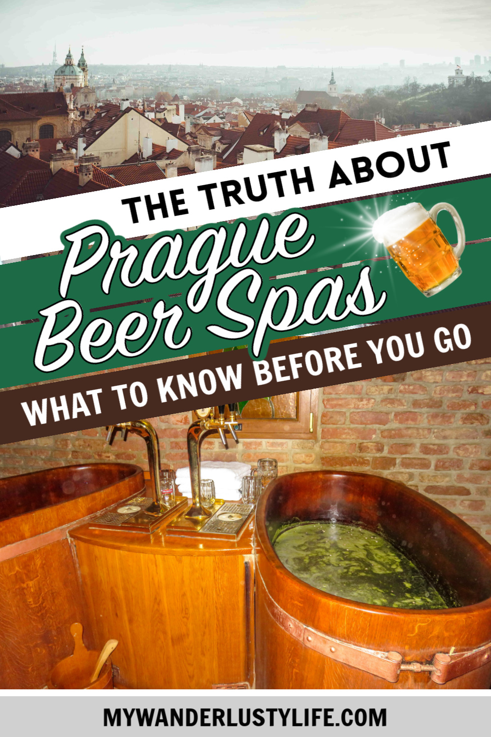 The Truth About Visiting a Prague Beer Spa: Review, Guide, & Important Tips / Original Beer Spa in Prague, Czech Republic #prague #beerspa #czech