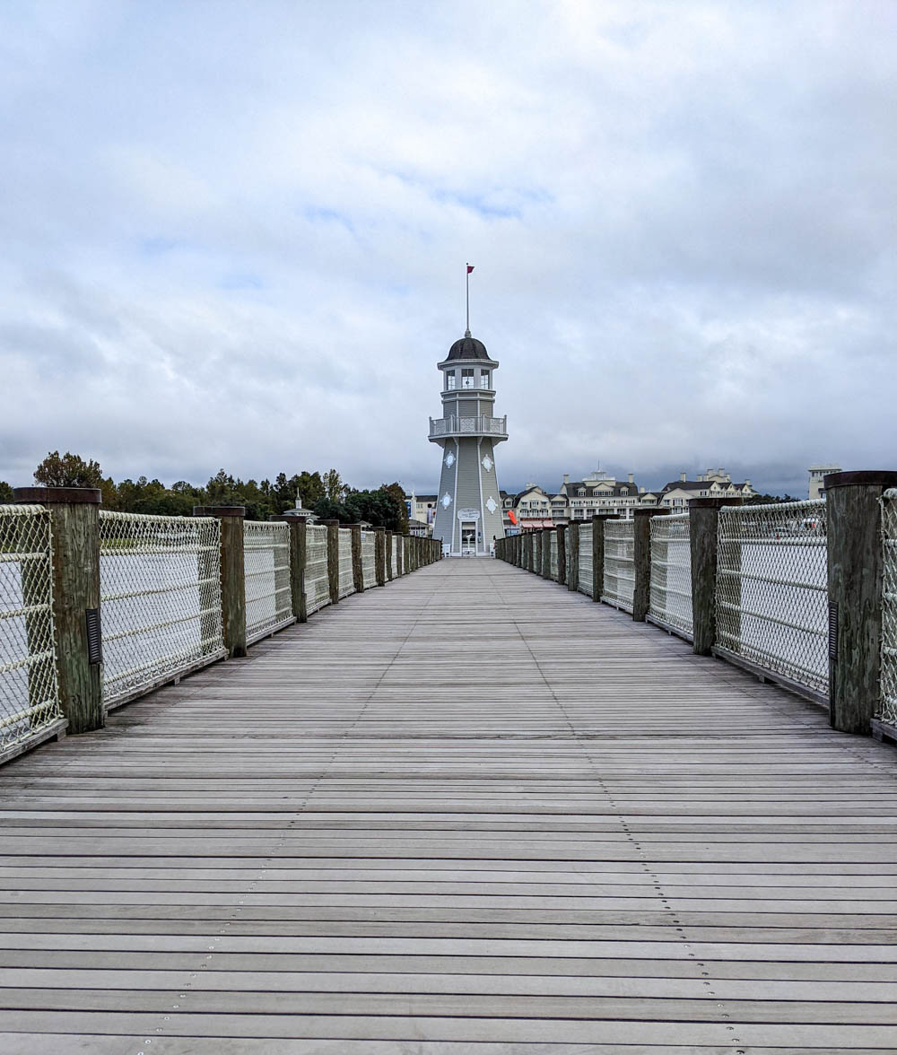 lighthouse at the end of a dock - things to do in orlando besides theme parks