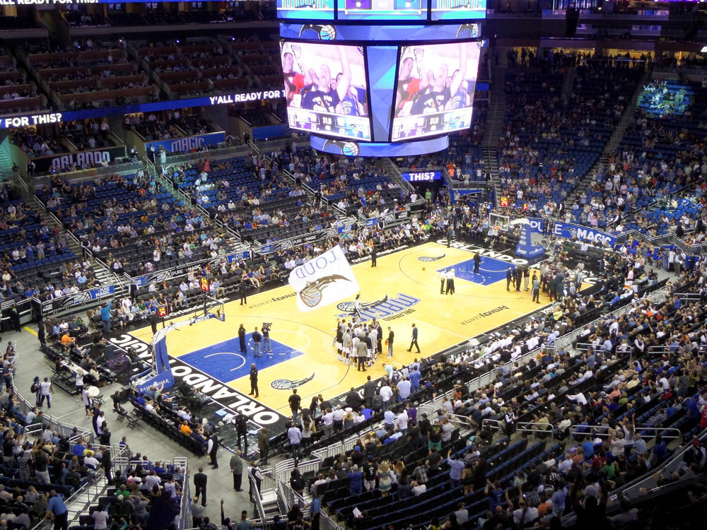 Orlando Magic NBA basketball game | The Best Things to Do in Orlando Besides Theme Parks: Orlando, Florida for adults