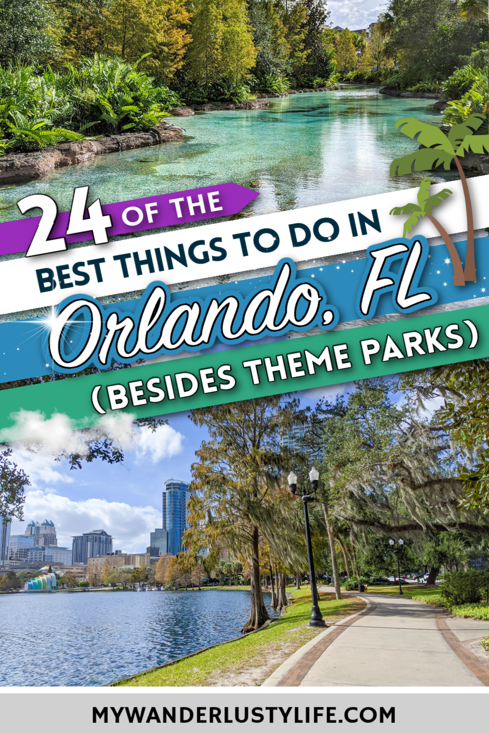 The Best Things to Do in Orlando, Florida besides theme parks   Craft beer, water sports, adventure activities, museums, history, art, culture, shopping, dining, and so much more.