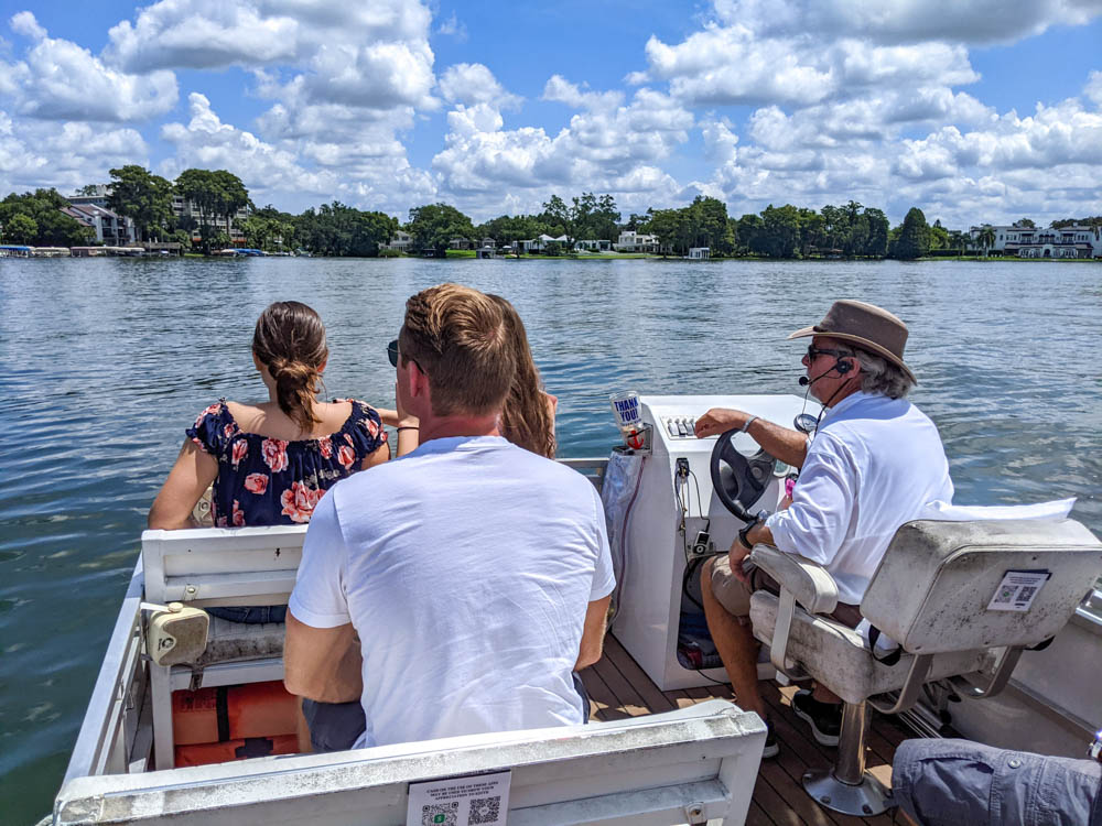 Winter Park Scenic Boat Tour | The Best Things to Do in Orlando Besides Theme Parks: Orlando, Florida for adults